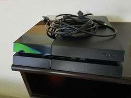 Vendo PlayStation 4 Fat 500 Gb + Control Militar verde + 2 Juegos