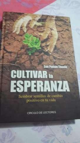 "Vendo libro ""cultivar la esperanza """