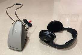 Audifonos TV para personas con problemas auditivos - inhalambricos