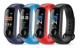 Smart Watch M3 Plus Band Reloj Pulse Intel Bluetooth Envio I