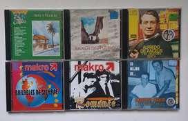 CDs compact discs música popular y de antaño