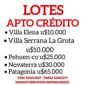 Lotes #Apto #creditohipotecario