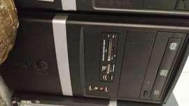 Torres atx core i3 4gb ram disco de 500gb unidad de dvd 3 meses garantia