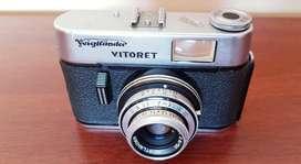 Camara De Fotos Voigtlander Vitoret Dr Color- Lanthar 2.8/50