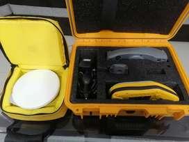 Gps trimble GeoXT 2005, cargador, base y antena hurricane.