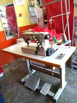 Máquina recubridora industrial , Feiyue modelo 2500 , estructura metálica , tablero formado de fornica , motor 400w.