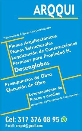 Planos Arquitectónicos Y Desenglobes.