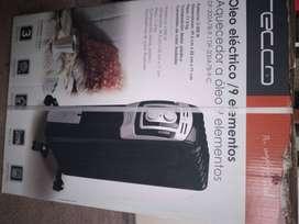 Calefactor eléctrico tipo europeo, radiador de aceite