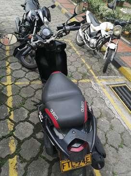 Vendo Moto Agility 125 Negra 2017