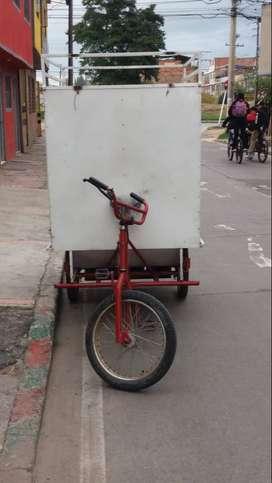 Venta de triciclo con motor