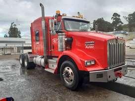 Se vende trailer kenworth 2010 aerocab a toda prueba motor isx 500 caja de 15 transmisiones de 46.000 lb papeles al dia