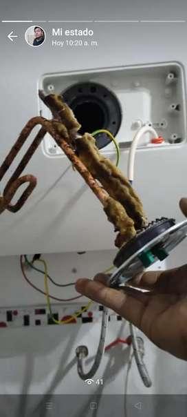 mantenimiento e instalación de termas y duchas eléctricas