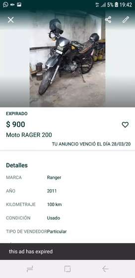 Moto RAGER 200