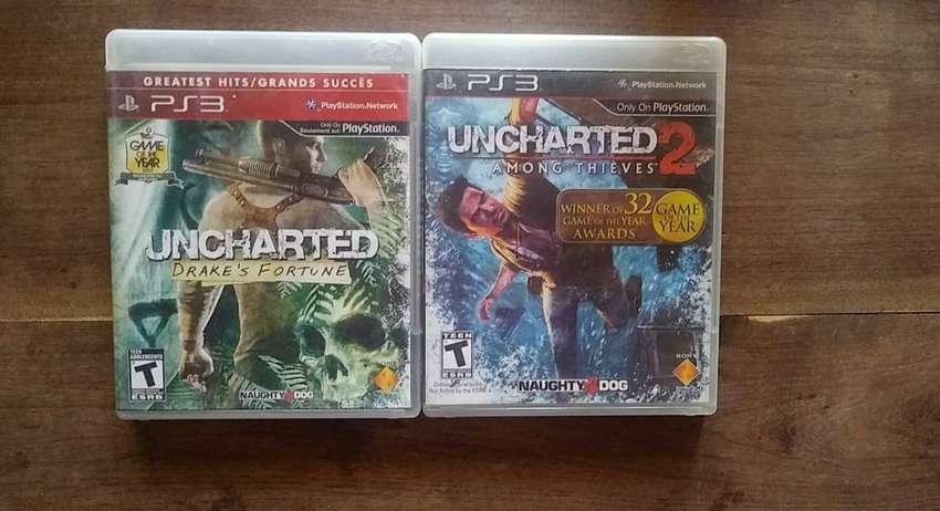 Uncharted Y Uncharted 2 0