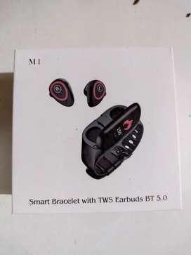 Smart band con quriculares 2 en 1