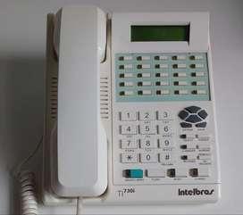 Telefono Multilinea Ti730i Intelbras Central Compacta  Marikondeando