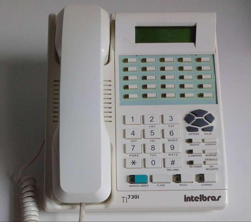 Telefono Multilinea Ti730i Intelbras Central Compacta  Marikondeando 0