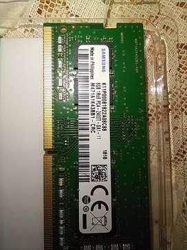 RAM DDR4 SODIMM (portátil) Samsung de 8GB a 2400Ghz