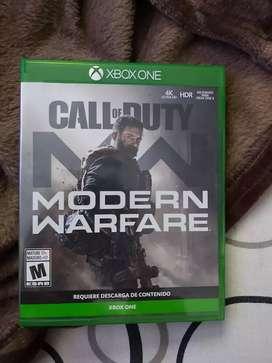 Juego call of duty modern warfare