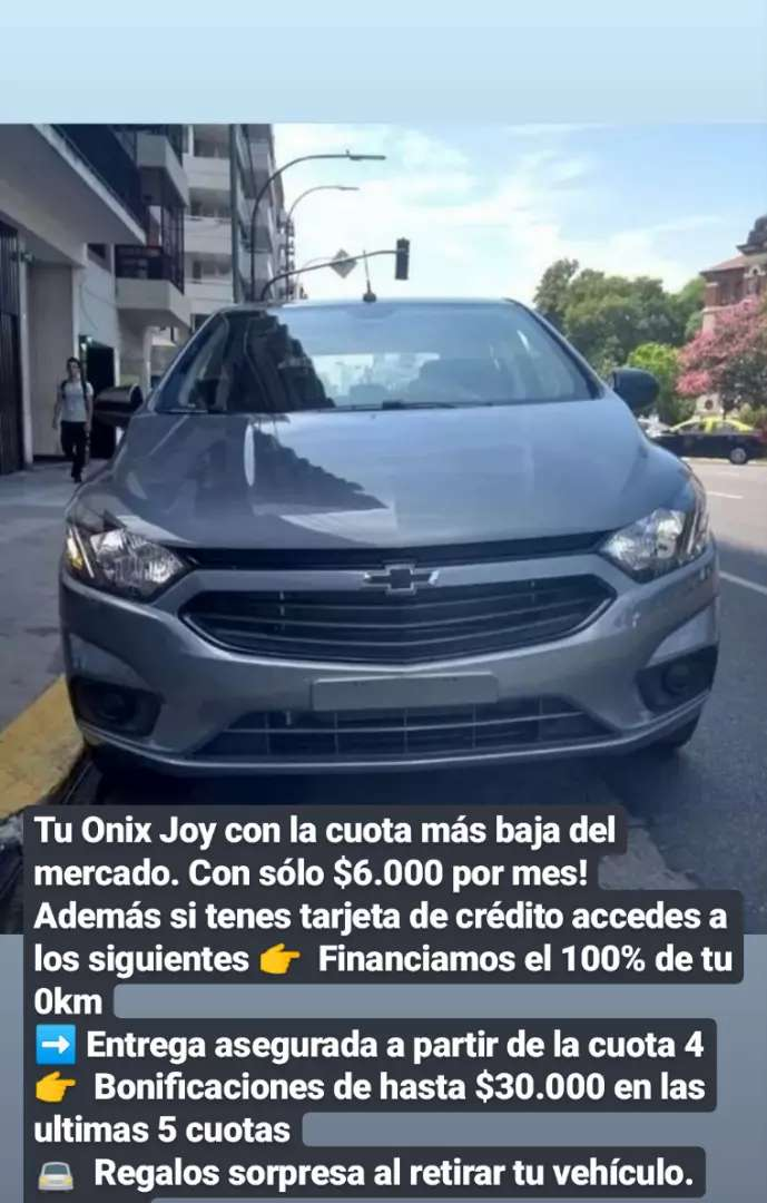 Chevrolet Onix Joy Black Edition 0