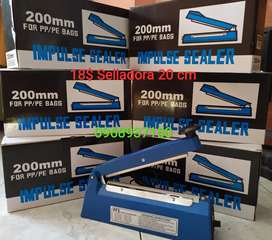 Selladora de 20 y 30 cm para fundas plasticas