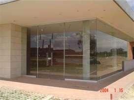 Fachadas en aluminio y vidrio