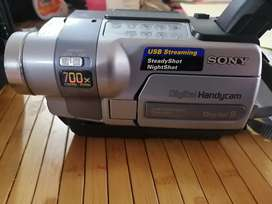 Videocamara handycam dcr-trv250 ntsc 8mm