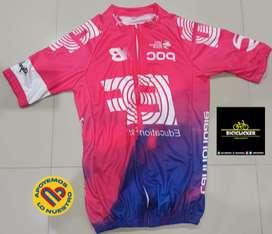 Buzos para ciclismo manga corta - diferentes equipos profesionales MTB-RUTA.