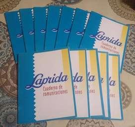 Cuaderno de comunicados LAPRIDA