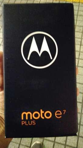 Moto e7 plus nuevo