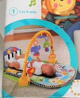Gimnasio estimulador para bebes