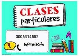 Clases particulares de matemáticas y calculo
