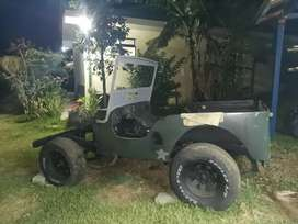 Jeep Willys 1953 tapa baja
