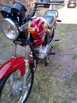 Vendo Yamaha ybr 125 impecable
