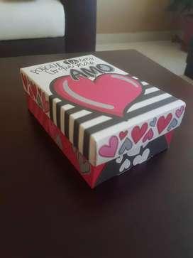 Cajitas para San Valentín