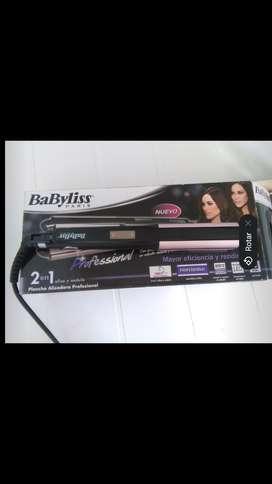 Plancha de cabello Babyliss Paris Professional