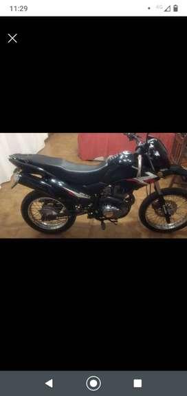 Moto Zanella ZZR 200cc