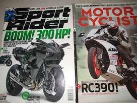 Revista (2) Motos Sport Rider 300hp+ Motor Cyclist BMW