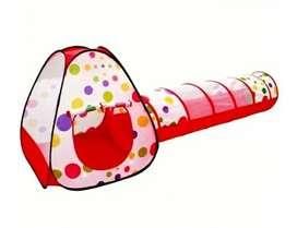Casa tunel bebe + pelotas
