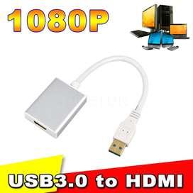 Adaptador Usb 3.0 A Hdmi Multiples Pantallas 1080p