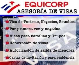VISAS A EEUU Y EUROPA