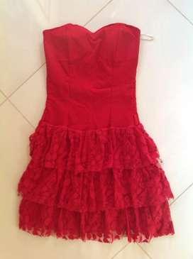 Vestido de Fiesta Tallaje Pequeño L