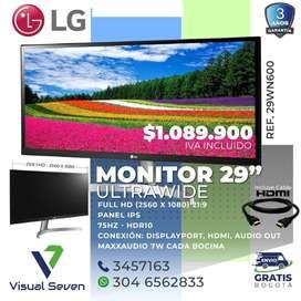 Monitor 29 Pulgada Ultra Delgado LG