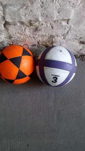 Vendo 5 pelotas n3