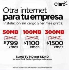 INTERNET PARA EL HOGAR O TU NEGOCIO !!!