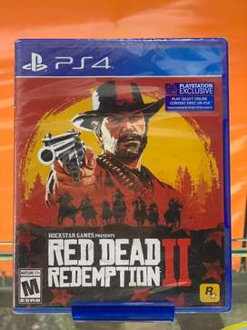 Juego Red dead redemption ll ps4