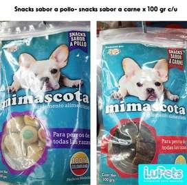 snackscomida para perrosmascotas100gr