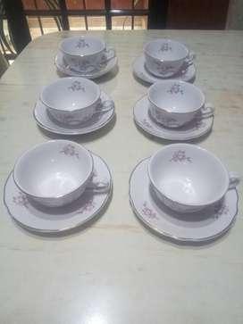 Juego de Te Porcelana