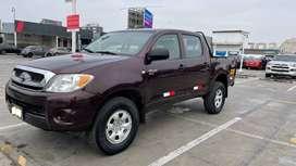 Toyota Hilux 2007 CD Turbo Diesel Mecánico 4x2 a 13 900 Dólares  / USO LIMA / NO JAULA