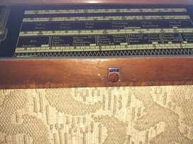 Maquina de coser maquina de escribir y radio